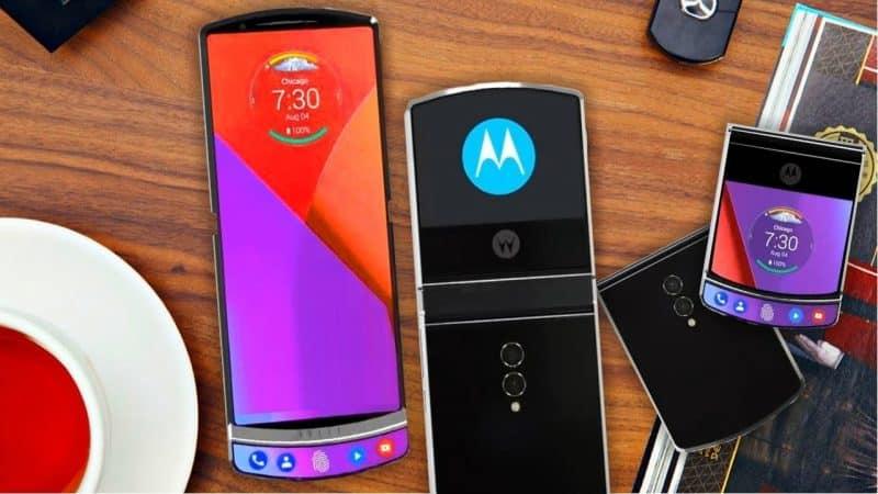Smartphones à écran flexible